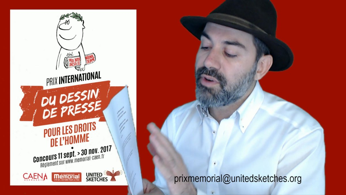 How to Apply for the Mémorial of Caen International Cartoon Awards for Human Rights [Prix Mémorial]